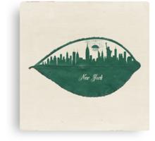 New York Skyline at Sunrise Canvas Print