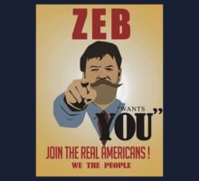 Zeb Wants You Poster by Bucky Sentry