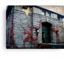 The Coach Barn and Museum at Kykuit, Sleepy Hollow NY Canvas Print
