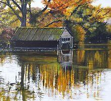 The Boat Shed by Paula Oakley