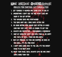 The Zombie Apocalypse - Rules for Dating My Daughter by Marjuned