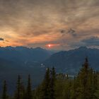 Bow Valley Sunset by JamesA1