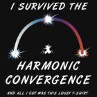 I survived the Harmonic Convergence- dark shirt design by tehmomo