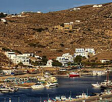 The New Harbour in Tourlos by Tom Gomez