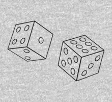dice transparent by JJImagearts