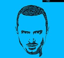 Jesse Pinkman Blue by seanings