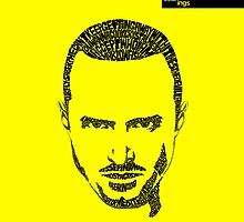 Jesse Pinkman Yellow by seanings
