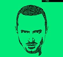 Jesse Pinkman Green by seanings
