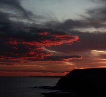 Headland Sunset 2 by Al Russell