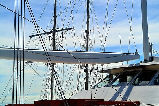 READY TO SAIL by Margaret Stevens