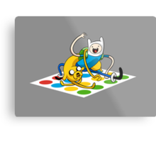 Adventure Time Twister Metal Print