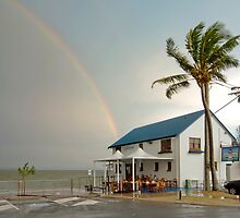 The End of the Rainbow - Cleveland Qld Australia by Beth  Wode