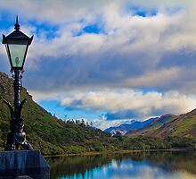 Ireland. Connemara. View from Kylemore Abbey. by vadim19