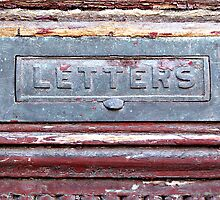 Letter Slot © by Ethna Gillespie