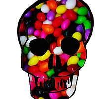 Candy Skull by Jessie Smart