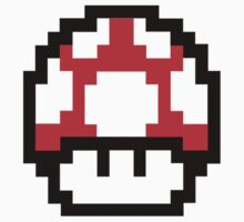 Mario Mushroom by N3ON
