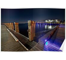 www.LyndenSmith.com - Geelong Waterfront Poster
