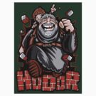 The Incredible Hodor - Sticker by TrulyEpic
