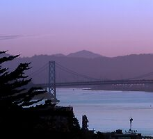 Diablo Beyond the Bay by David Denny