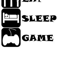 Eat Sleep Game by kwg2200