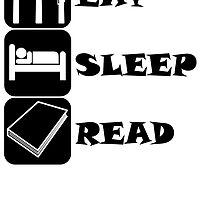 Eat Sleep Read by kwg2200