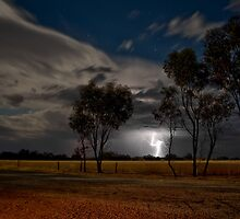 Western Australia country Lightening by Stephen Humpleby