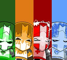 Castle Crashers Elements by ILoveLamps