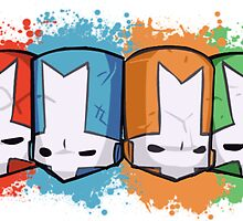 Castle Crashers Colour by ILoveLamps