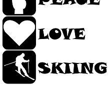 Peace Love Skiing by kwg2200