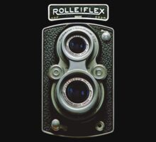 Vintage Classic Retro Rolleiflex dual lens camera by Johnny Sunardi