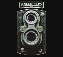 Vintage Classic Retro Rolleiflex dual lens camera by Johnny Sunardi