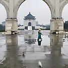 Chiang Kai-Shek Memorial Hall - Taiwan by Robyn Lakeman