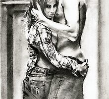 he and his girlfriend... pencil by danijelg