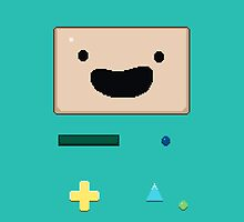 Pixel BMO by Simon Alenius