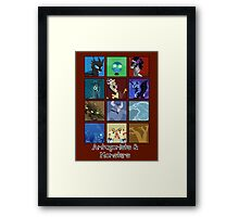 MLP - Antagonists and Monsters Framed Print