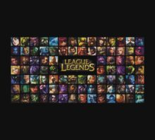League of Legends -Champions grid by PippoNoise