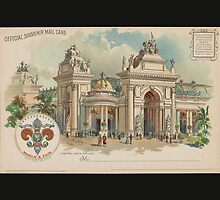 1904 St. Louis World's Fair Official Postcard by caljaysoc