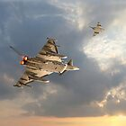 RAF Typhoon  -  'Evensong' by warbirds