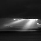 Sunbeams over Jura by Adam Seward
