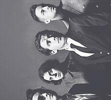 Arctic Monkeys Phone Case by nicolecorder