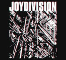 Joy Division Unknown Pleasures 3D by Naauris