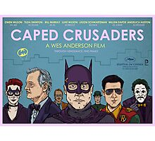 Caped Crusaders Photographic Print