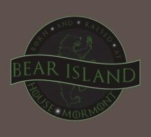 Born and Raised at Bear Island Kids Clothes