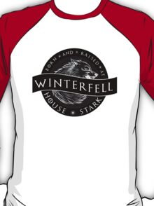 Born and Raised at Winterfell T-Shirt