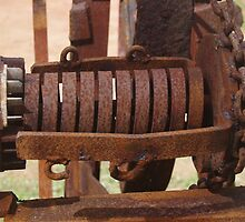 Old farming equipment by lezvee