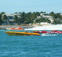 Key West PowerBoat Races by SDSPhotography
