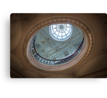 There's a Hole in My Ceiling || Glasgow City Chambers, Glasgow  Canvas Print