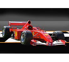 Ferrari Formula One F1 Photographic Print