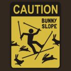 CAUTION: Bunny Slope by Jenn Inashvili