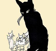 My Sin Cat Design  by Josué Salazar